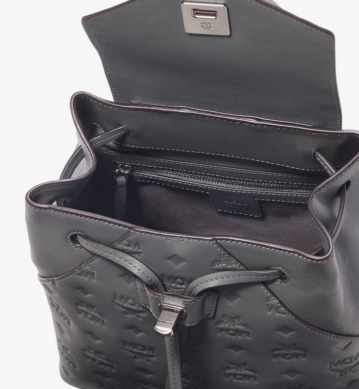 MCM Essential Backpack in Monogram Leather  MWK9ASE03EC001 Alternate View 4