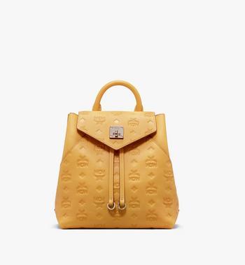 MCM Essential Backpack in Monogram Leather Alternate View