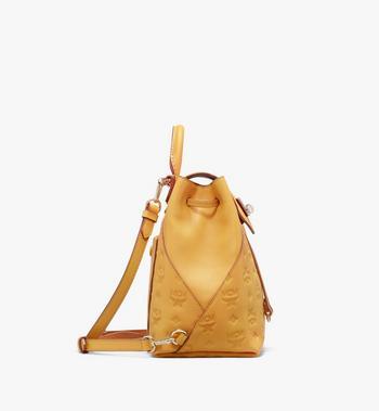 MCM Essential Backpack in Monogram Leather Alternate View 2