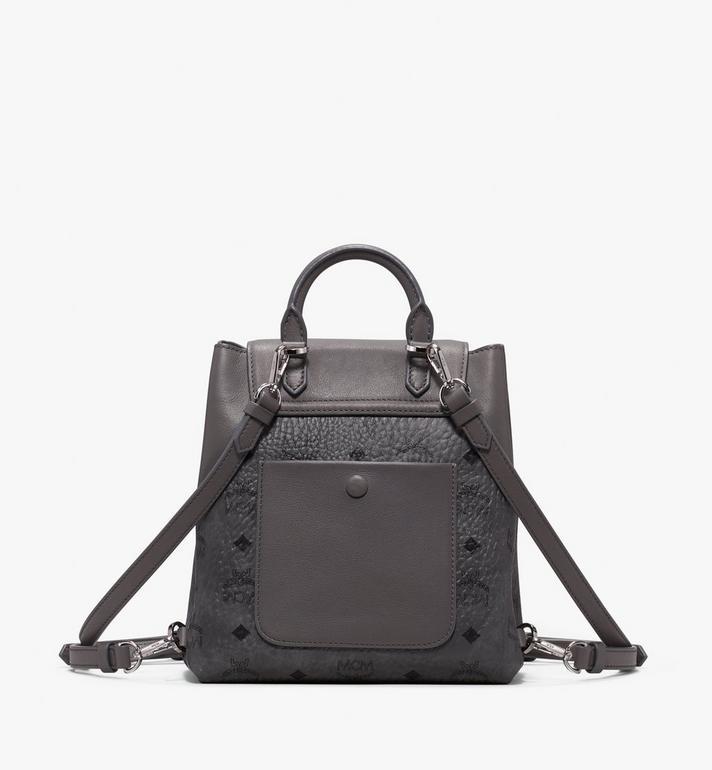 MCM Essential Backpack in Visetos Alternate View 3