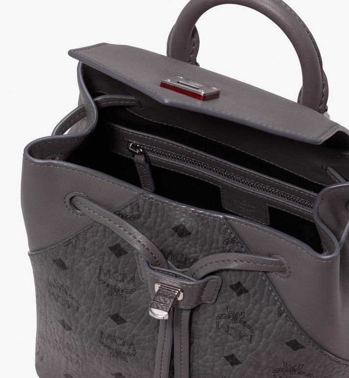 MCM Essential Backpack in Visetos Alternate View 4