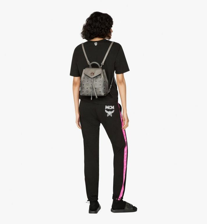MCM Essential Backpack in Visetos Alternate View 5