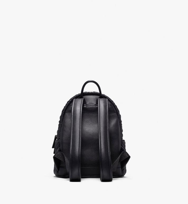MCM Stark Bebe Boo Backpack in Crystal Quilted Leather  MWK9AVE92BK001 Alternate View 3
