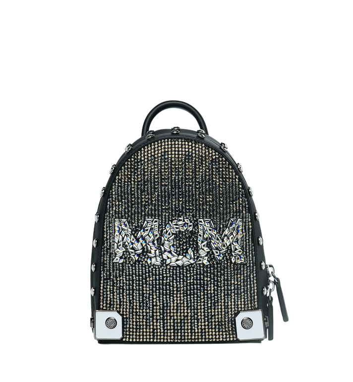 30f3e84d028f2 20 cm   8 in Stark Bebe Boo Backpack in Mosaic Crystal Black