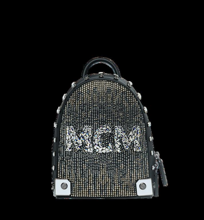 MCM Stark Bebe Boo Backpack in Mosaic Crystal AlternateView