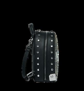 MCM Stark Bebe Boo Backpack in Mosaic Crystal Alternate View 3