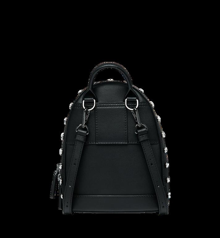 MCM Stark Bebe Boo Backpack in Mosaic Crystal Black MWK9SMS01BK001 Alternate View 5