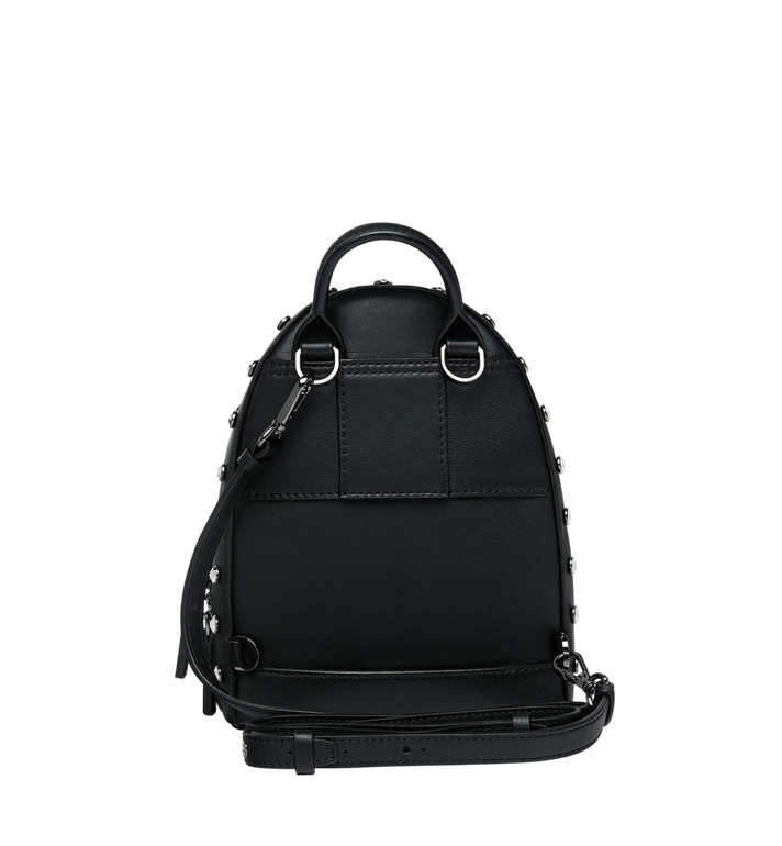 MCM Stark Bebe Boo Backpack in Mosaic Crystal AlternateView6