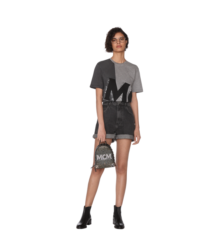 MCM Stark Bebe Boo Backpack in Mosaic Crystal AlternateView8