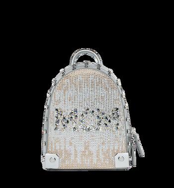 MCM Stark Bebe Boo Backpack in Mosaic Crystal MWK9SMS01SB001 AlternateView