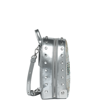 MCM Stark Bebe Boo Backpack in Mosaic Crystal MWK9SMS01SB001 AlternateView3