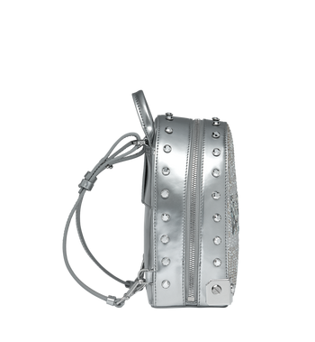 MCM Stark Bebe Boo Backpack in Mosaic Crystal MWK9SMS01SB001 AlternateView4