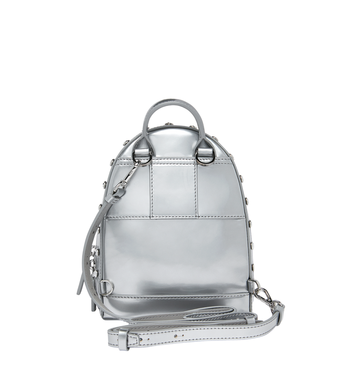 MCM Stark Bebe Boo Backpack in Mosaic Crystal MWK9SMS01SB001 AlternateView6