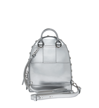 MCM Stark Bebe Boo Backpack in Mosaic Crystal Alternate View 6