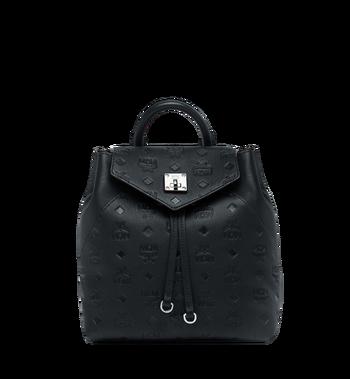 MCM Essential Backpack in Monogram Leather MWK9SSE03BK001 AlternateView