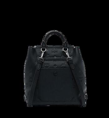 MCM Essential Backpack in Monogram Leather MWK9SSE03BK001 AlternateView4