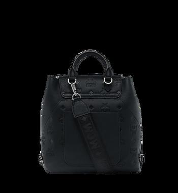 MCM Essential Rucksack aus Leder mit Monogramm Alternate View 5