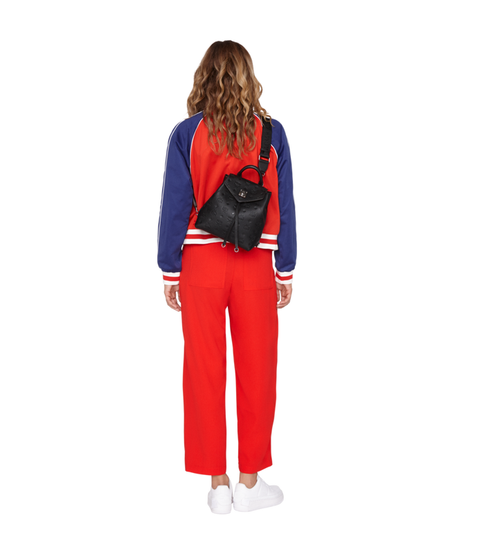 MCM Essential Backpack in Monogram Leather MWK9SSE03BK001 AlternateView7