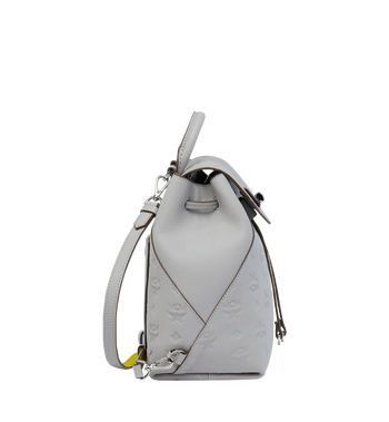 MCM Essential Backpack in Monogram Leather Alternate View 3