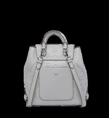 MCM Essential Backpack in Monogram Leather Alternate View 4