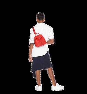 MCM Essential Backpack in Monogram Leather Alternate View 8