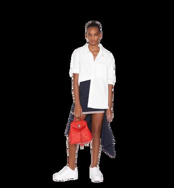 MCM Essential Backpack in Monogram Leather Alternate View 9