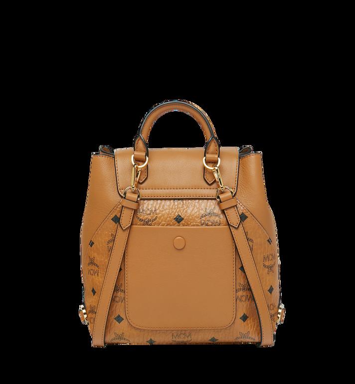 MCM Essential Backpack in Visetos Original Cognac MWK9SSE05CO001 Alternate View 4