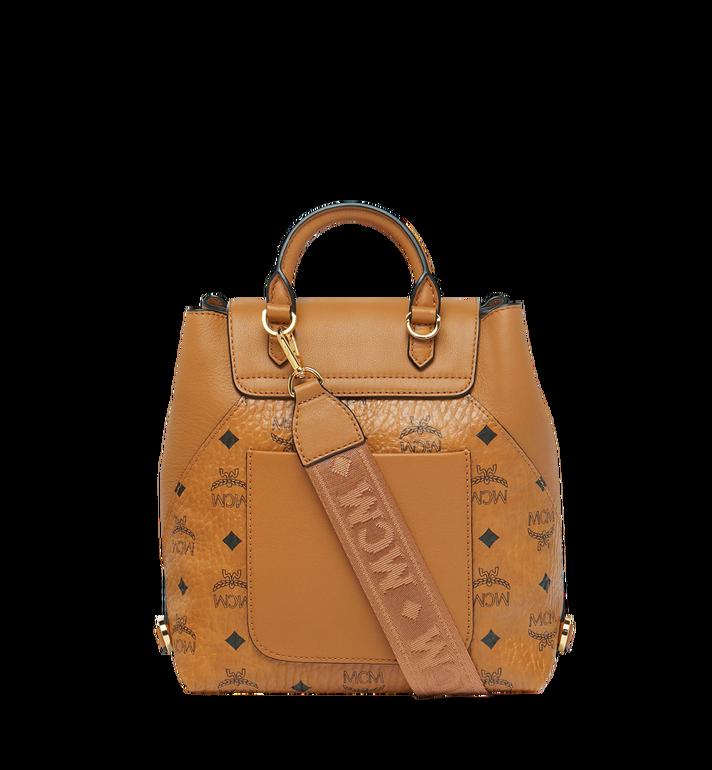 MCM Essential Backpack in Visetos Original Cognac MWK9SSE05CO001 Alternate View 5