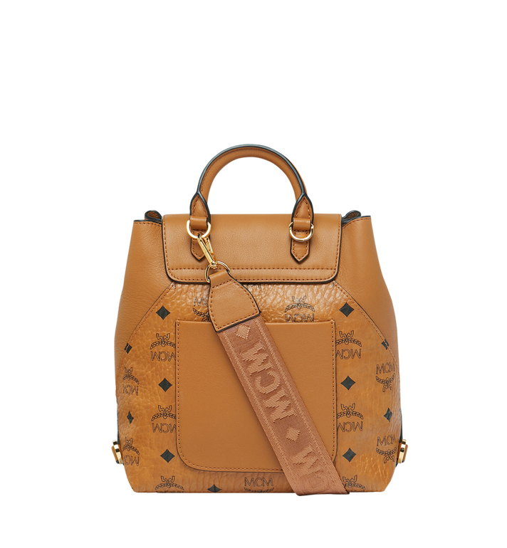 MCM Essential Backpack in Visetos Original Alternate View 5