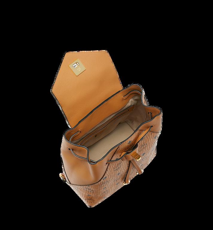 MCM Essential Backpack in Visetos Original Cognac MWK9SSE05CO001 Alternate View 6