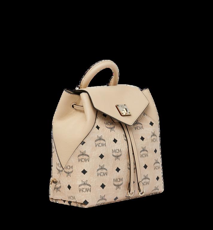 MCM Essential Backpack in Visetos Original MWK9SSE05IG001 AlternateView2