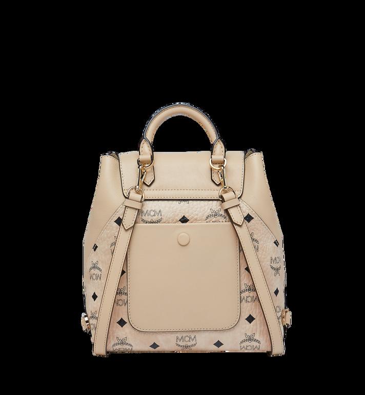 MCM Essential Backpack in Visetos Original MWK9SSE05IG001 AlternateView4