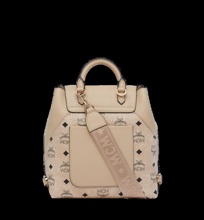 MCM Essential Backpack in Visetos Original MWK9SSE05IG001 AlternateView5