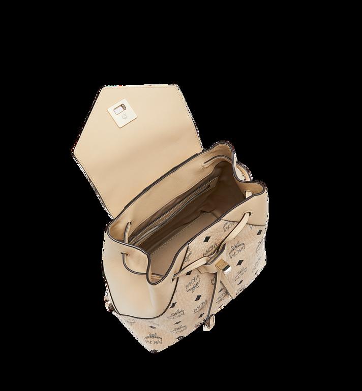 MCM Essential Backpack in Visetos Original MWK9SSE05IG001 AlternateView6