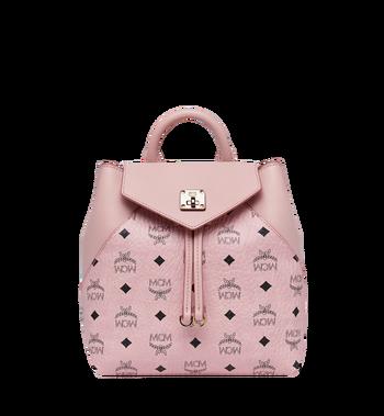 MCM Essential Backpack in Visetos Original MWK9SSE05PZ001 AlternateView