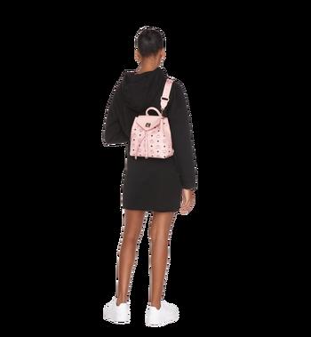 MCM Essential Backpack in Visetos Original Alternate View 7