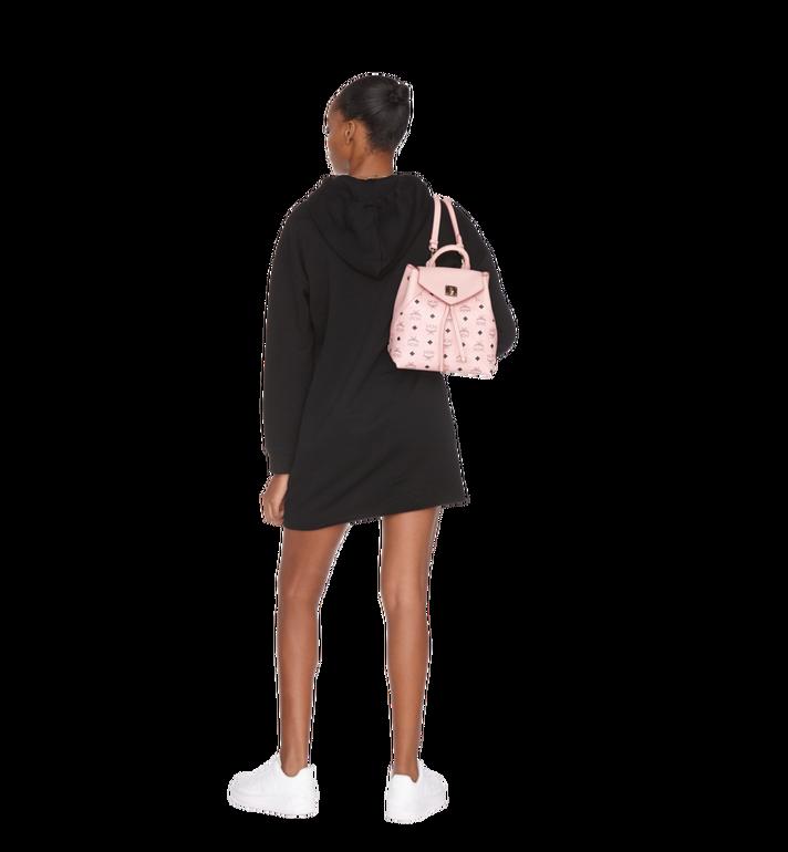 MCM Essential Backpack in Visetos Original Pink MWK9SSE05PZ001 Alternate View 9