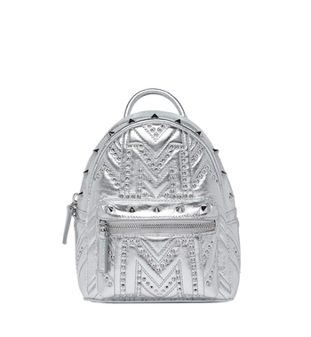 MCM Stark Bebe Boo Backpack in Quilted Studs Alternate View