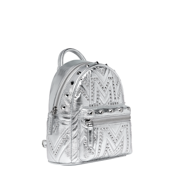 MCM Stark Bebe Boo Backpack in Quilted Studs AlternateView2
