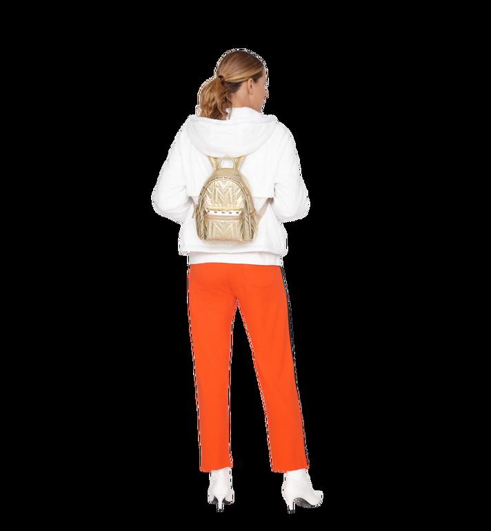MCM Stark Backpack in Quilted Studs MWK9SVE02DA001 AlternateView6