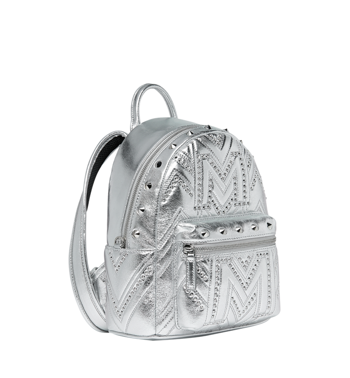 MCM Stark Backpack in Quilted Studs MWK9SVE02SB001 AlternateView2