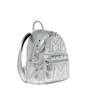 MCM Stark Backpack in Quilted Studs Alternate View 2