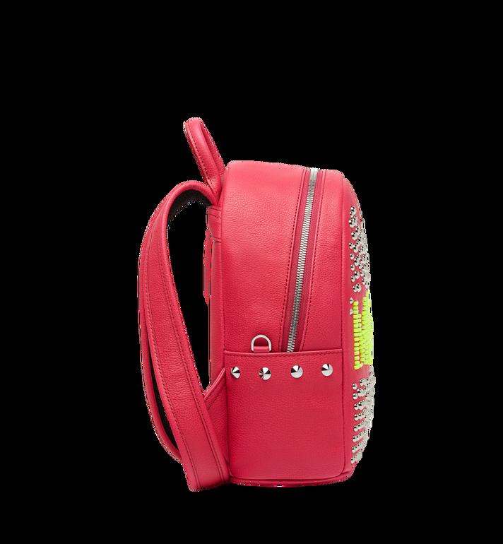 MCM Stark Backpack in Neon Stud Leather AlternateView3