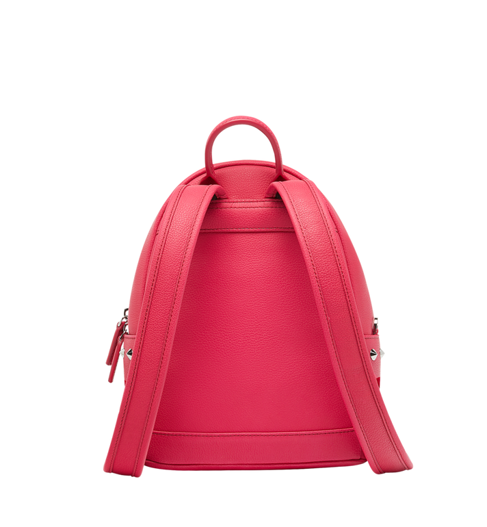 MCM Stark Backpack in Neon Stud Leather AlternateView4