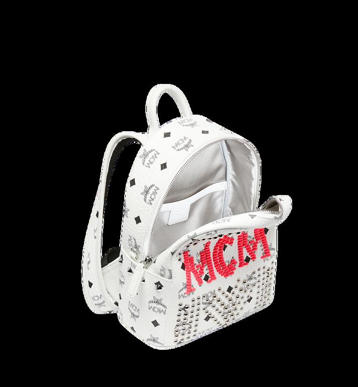 MCM Stark Backpack in Neon Stud Visetos AlternateView5