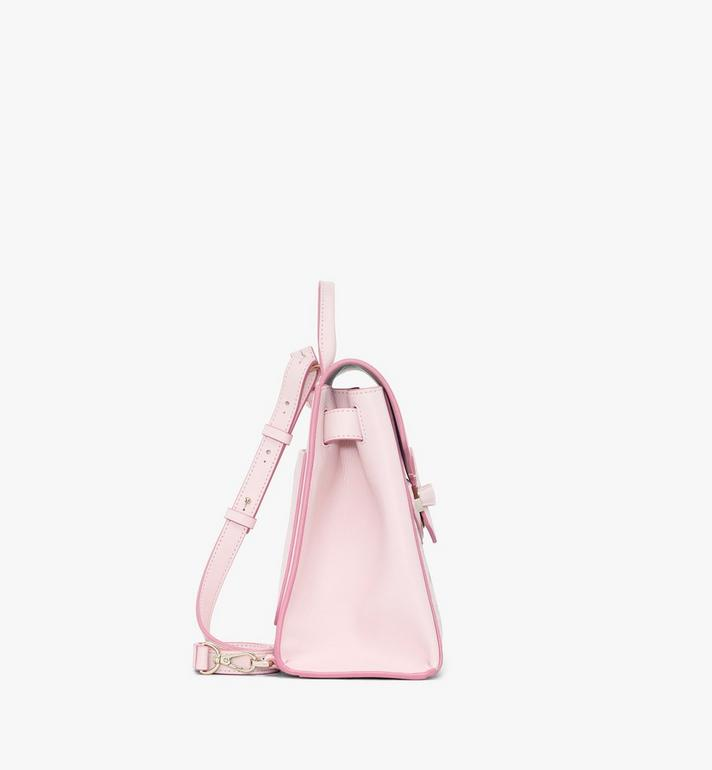 MCM Essential Backpack in Visetos Original Pink MWKASSE02QH001 Alternate View 2