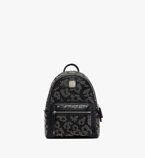 Stark Backpack in Studded Leopard Leather
