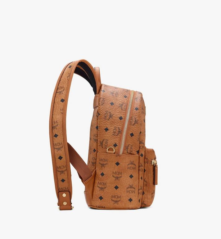 MCM Year Of The Mouse Stark Rucksack in Visetos Cognac MWKASVE07CO001 Alternate View 2