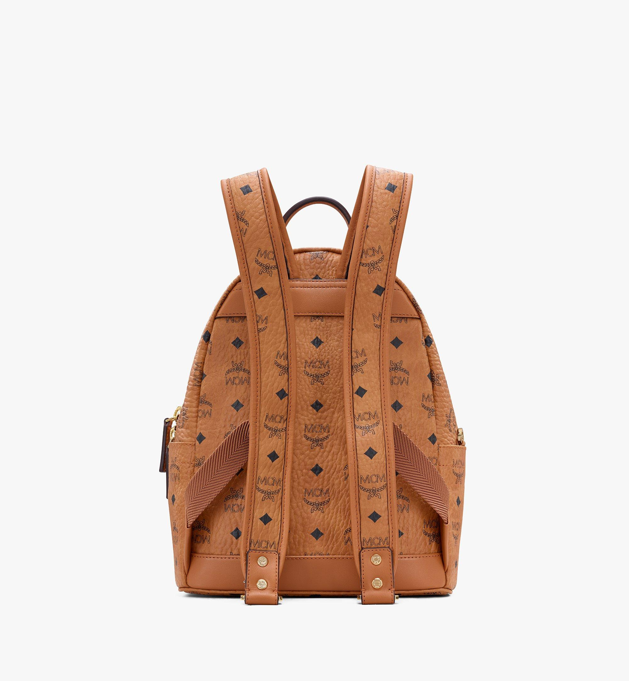MCM Year Of The Mouse Stark Rucksack in Visetos Cognac MWKASVE07CO001 Alternate View 3
