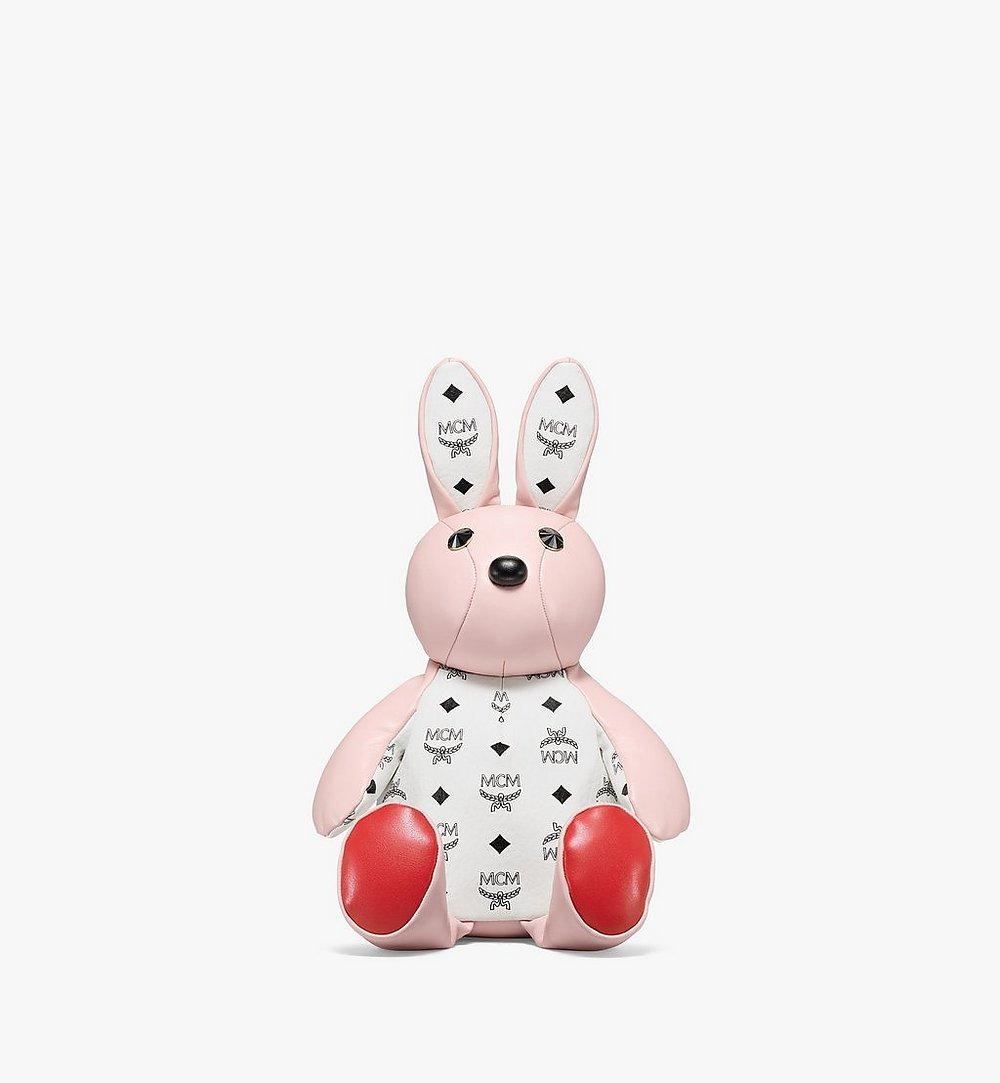 MCM MCM动物园系列Visetos拼接迷你兔子双肩背包 Pink MWKBSXL02QH001 更多视角 1